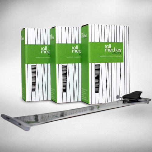Ferramenta-Para-Coloracao-De-Cabelos-Roll-Meches-Profissional-Kit-3-Caixas
