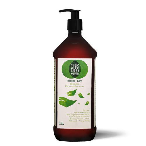Shampoo-Organico-Para-Cabelos-Secos-Sham-Dry-Cris-Dios-1L
