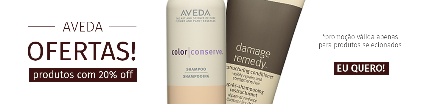 Banner Desktop Aveda 20% off