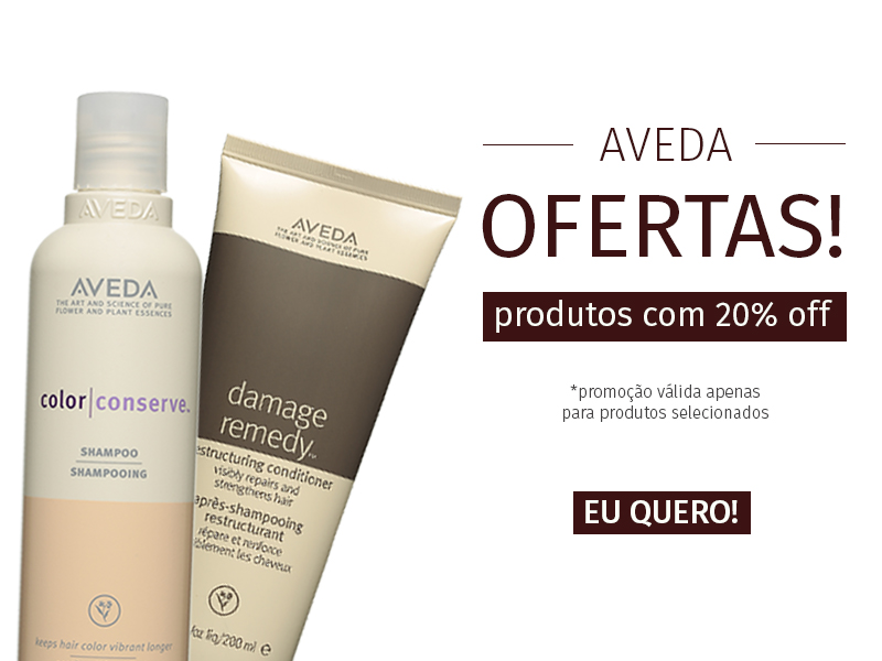 Banner Mobile Aveda 20% off