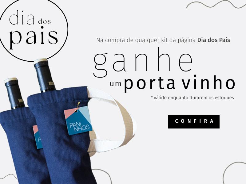 Promoção porta vinho